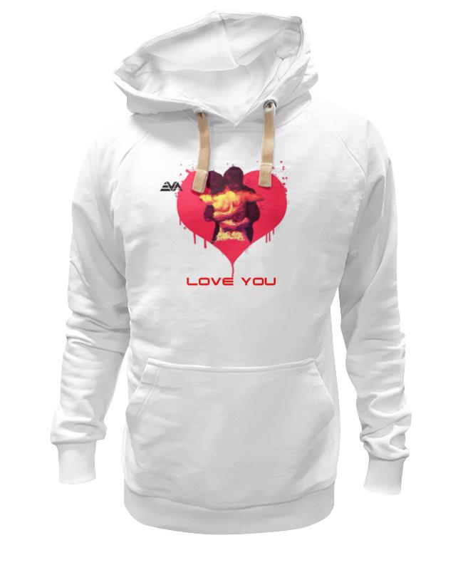 Толстовка Wearcraft Premium унисекс Printio Love you vision толстовка