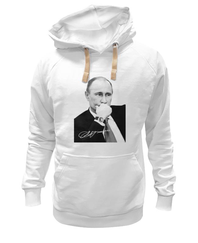 Толстовка Wearcraft Premium унисекс Printio Владимир путин by hearts of russia