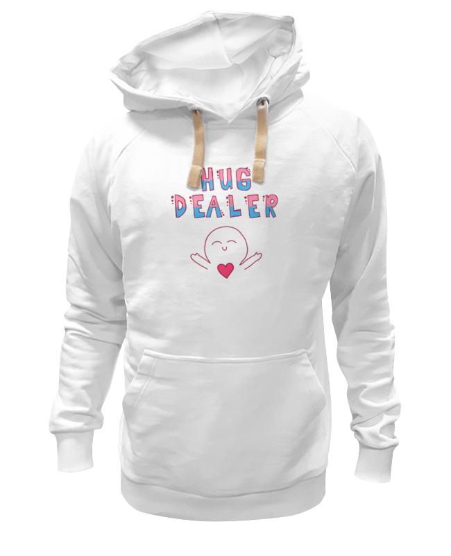 Толстовка Wearcraft Premium унисекс Printio Hug dealer обнимашки футболка wearcraft premium printio hug dealer обнимашки