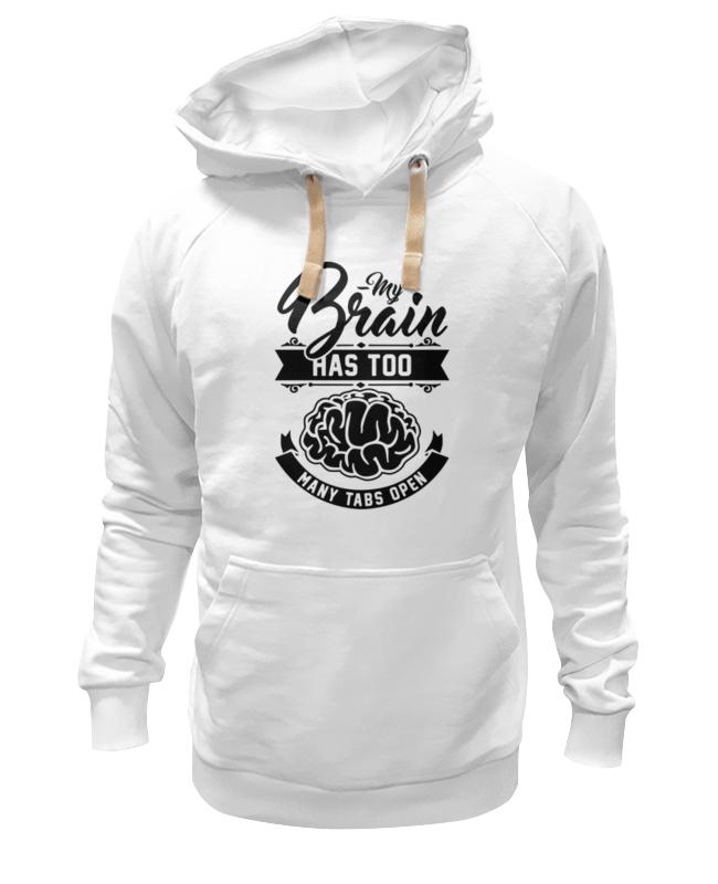 Толстовка Wearcraft Premium унисекс Printio Мозг (brain) цена