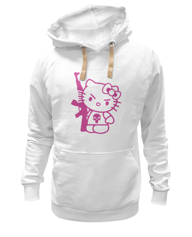 Толстовка Wearcraft Premium унисекс Printio Hello kitty ak-47 спортивная толстовка other 2014 hello kitty