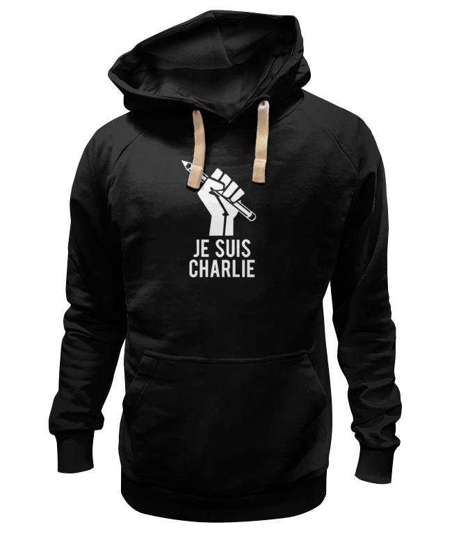 Толстовка Wearcraft Premium унисекс Printio Je suis charlie, я шарли толстовка wearcraft premium унисекс printio je suis charlie я шарли
