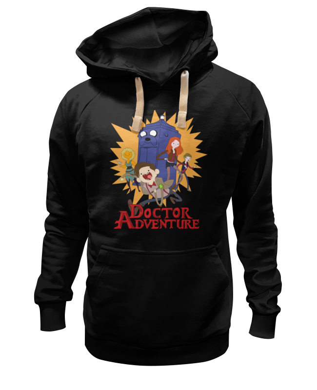 Толстовка Wearcraft Premium унисекс Printio Doctor adventure time лонгслив printio adventure time x doctor who