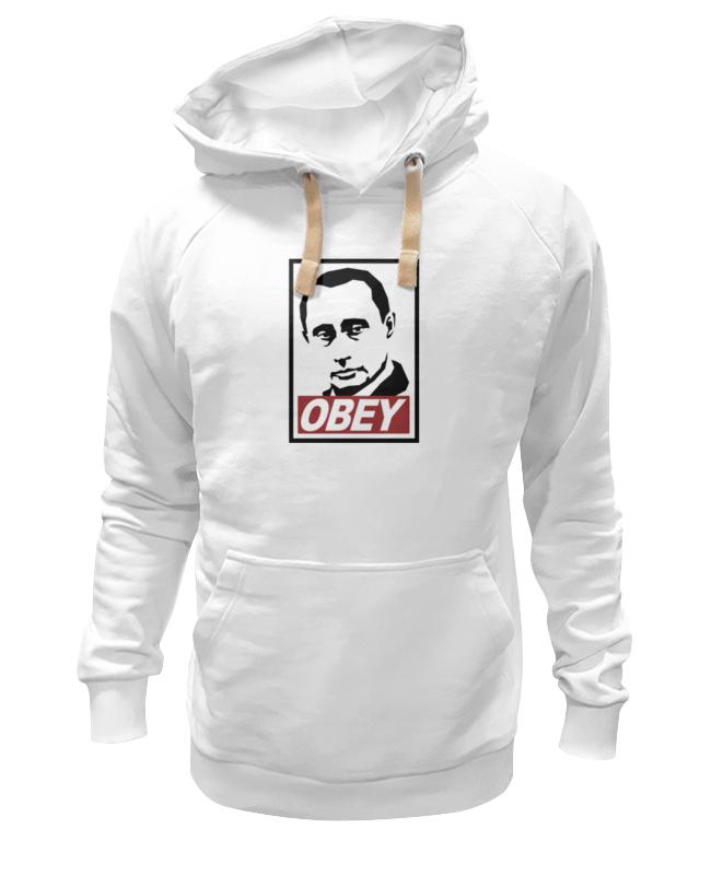 Толстовка Wearcraft Premium унисекс Printio Путин obey толстовка wearcraft premium унисекс printio bacon obey