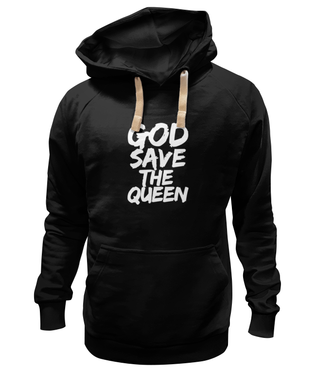цена Толстовка Wearcraft Premium унисекс Printio God save the queen (боже, храни королеву) в интернет-магазинах