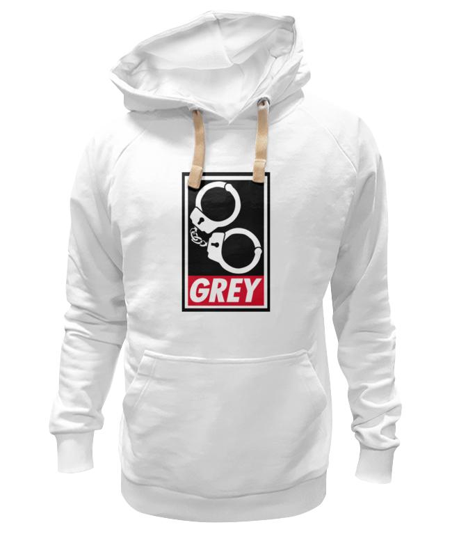 Толстовка Wearcraft Premium унисекс Printio 50 оттенков серого (fifty shades of grey) fifty shades of grey christian grey's silver tie фиксация в виде галстука