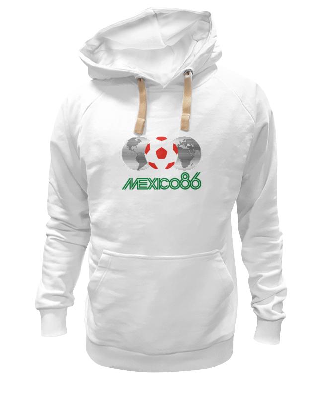 Толстовка Wearcraft Premium унисекс Printio Чемпионат мира по футболу в мексике 1986 год цена