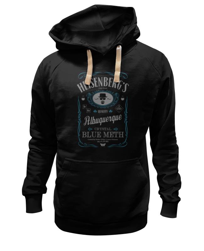 Толстовка Wearcraft Premium унисекс Printio Heisenberg's blue crystal