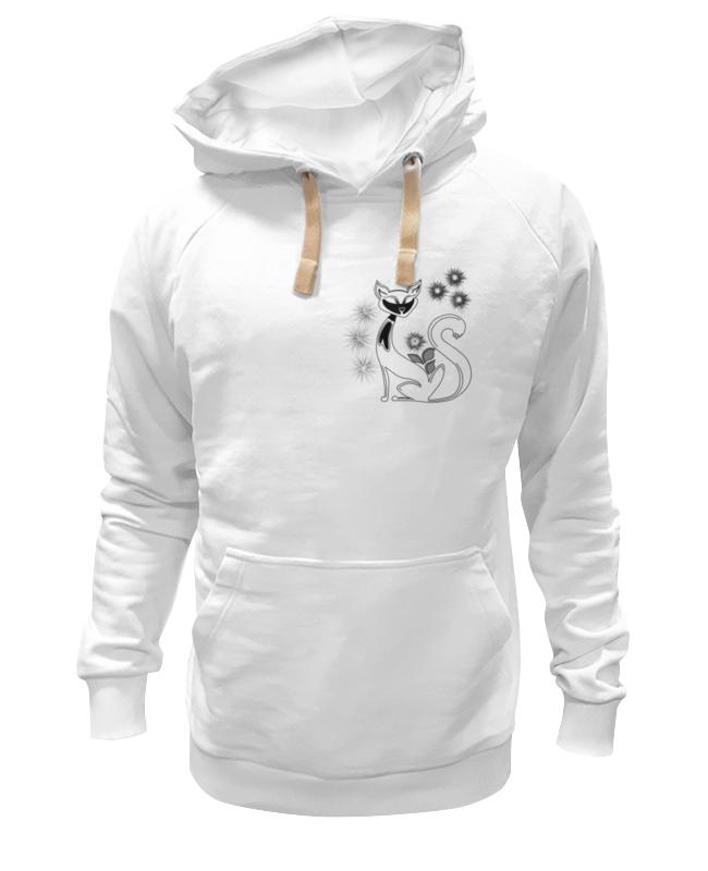 Толстовка Wearcraft Premium унисекс Printio Кошка футболка wearcraft premium printio боевая киса