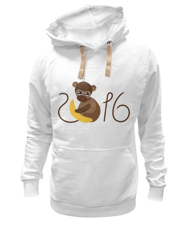 Толстовка Wearcraft Premium унисекс Printio Обезьянка биззи 2016 футболка wearcraft premium slim fit printio обезьянка биззи 2016