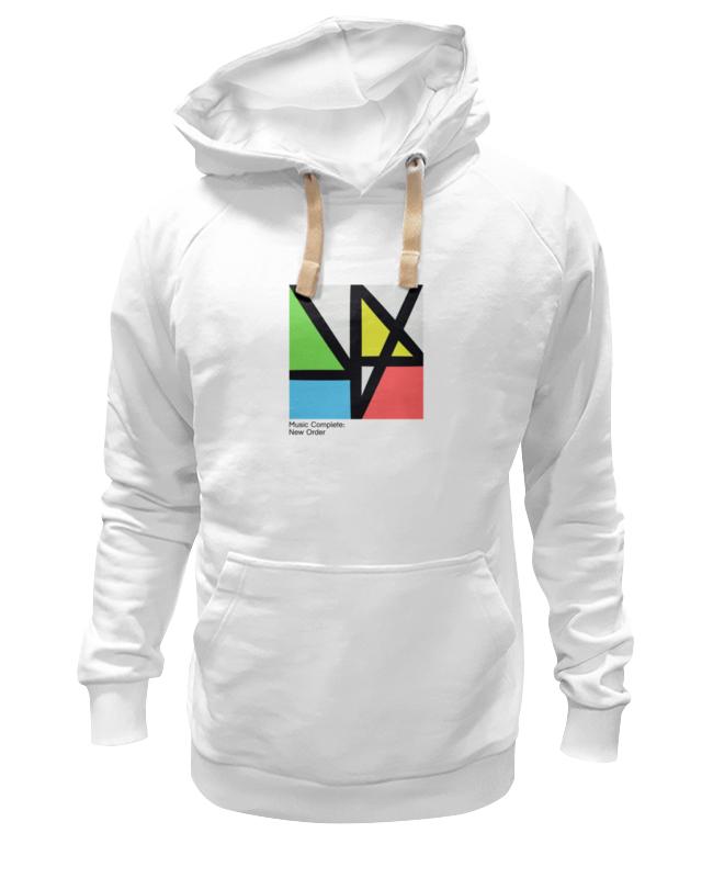 Толстовка Wearcraft Premium унисекс Printio New order / music complete футболка wearcraft premium slim fit printio new order  music complete