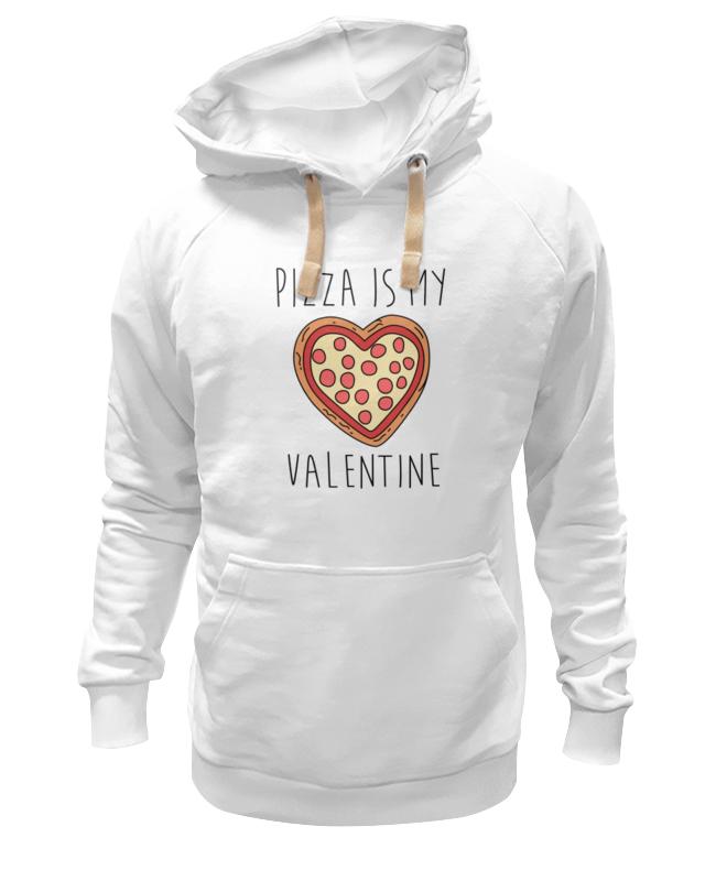 Толстовка Wearcraft Premium унисекс Printio Пицца - мой валентин футболка wearcraft premium slim fit printio пицца мой валентин