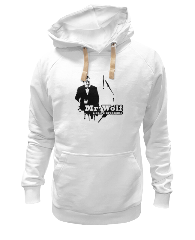 Фото - Толстовка Wearcraft Premium унисекс Printio Мистер вульф (криминальное чтиво) детская футболка классическая унисекс printio мистер вульф криминальное чтиво