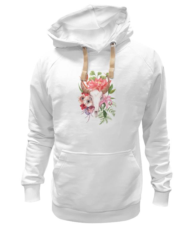 Толстовка Wearcraft Premium унисекс Printio Flower skull skull flower tank top with openwork lace back