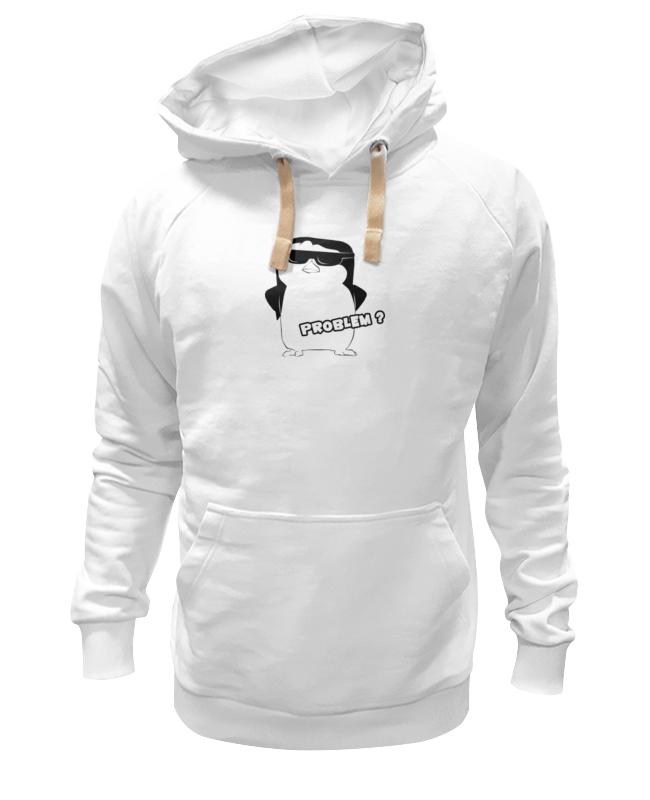 Толстовка Wearcraft Premium унисекс Printio Крутой пингвин футболка wearcraft premium printio rabbit cool mix крутой кроличий микс