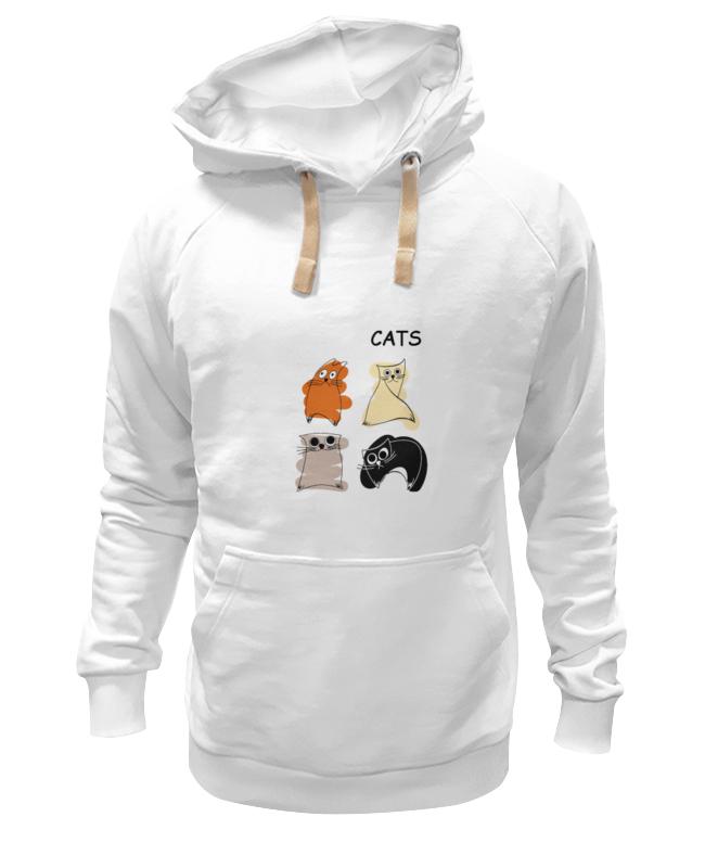 Толстовка Wearcraft Premium унисекс Printio Кошки толстовка wearcraft premium унисекс printio кошки не дети