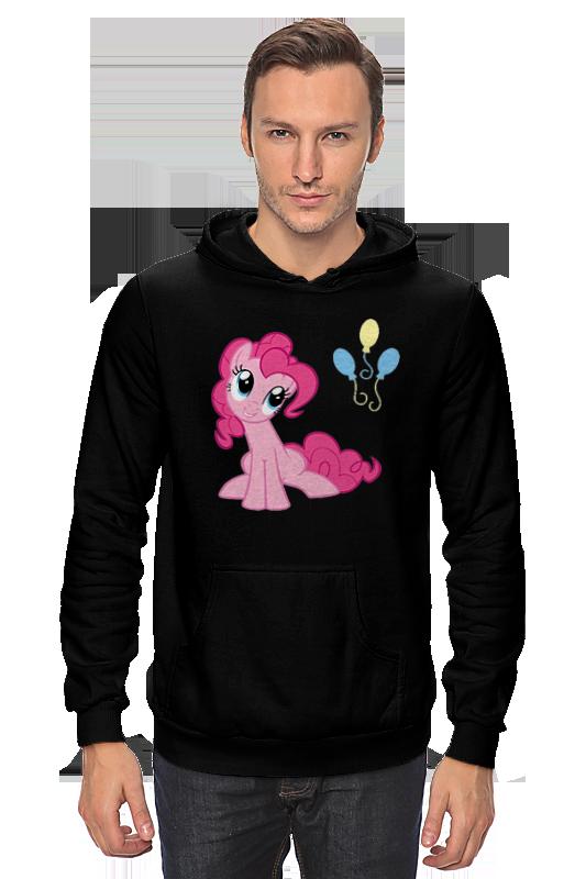 Толстовка Wearcraft Premium унисекс Printio Pinkie pie happiness толстовка