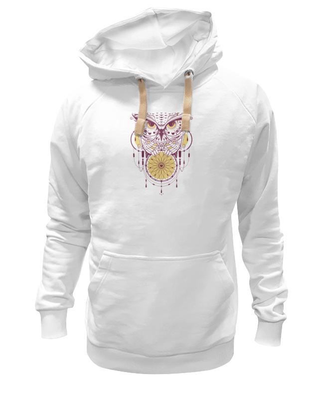 Толстовка Wearcraft Premium унисекс Printio Геометрическая сова футболка wearcraft premium printio геометрическая сова