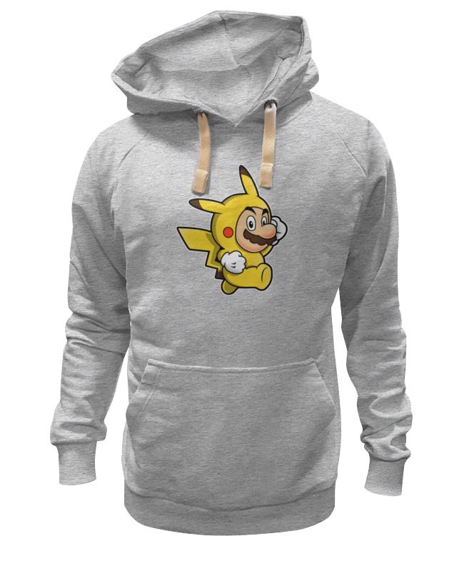 цена на Толстовка Wearcraft Premium унисекс Printio Mario x pokemon