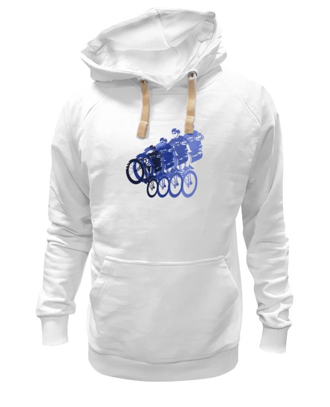 Толстовка Wearcraft Premium унисекс Printio Велосипедисты футболка wearcraft premium printio велосипедисты