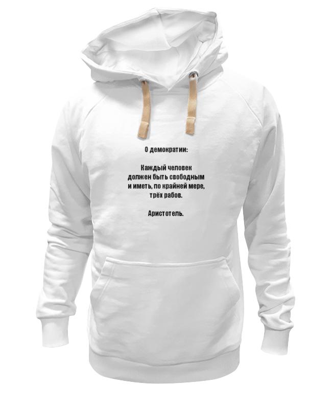 Толстовка Wearcraft Premium унисекс Printio Демократия