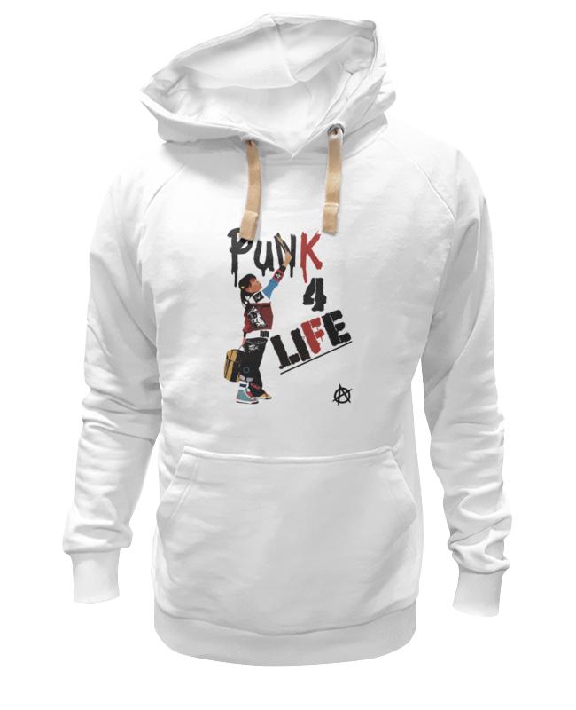 Толстовка Wearcraft Premium унисекс Printio Punk 4 life толстовка wearcraft premium унисекс printio slice of life