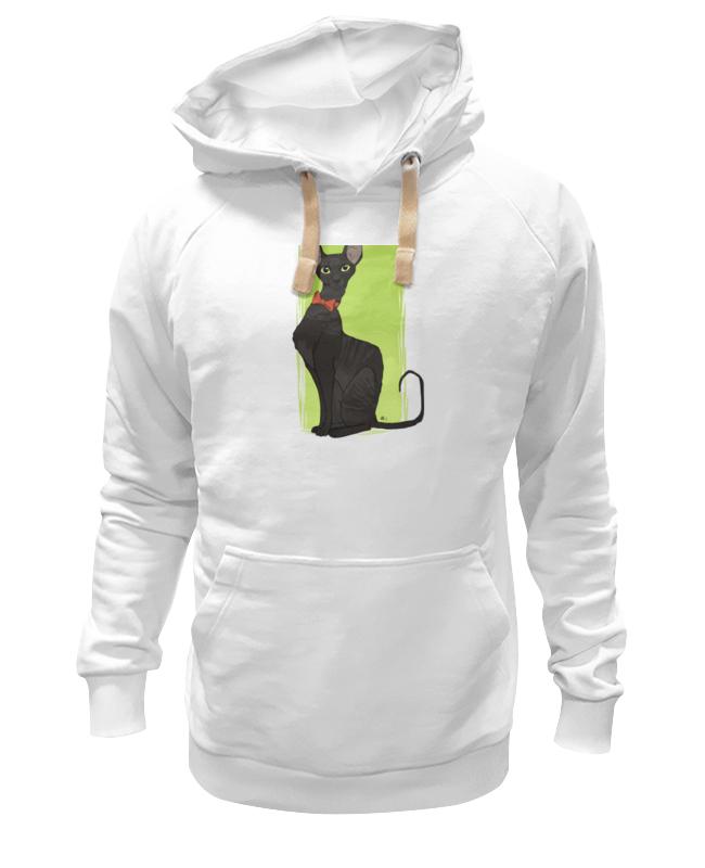 Толстовка Wearcraft Premium унисекс Printio Чёрная кошка