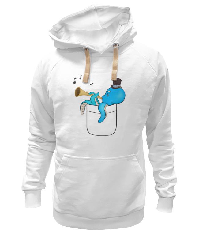Толстовка Wearcraft Premium унисекс Printio Осьминог в кармане. толстовка wearcraft premium унисекс printio octopus осьминог