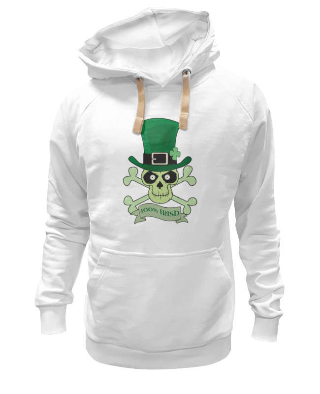 Толстовка Wearcraft Premium унисекс Printio Настоящий ирландец (100% irish) толстовка wearcraft premium унисекс printio настоящий детектив