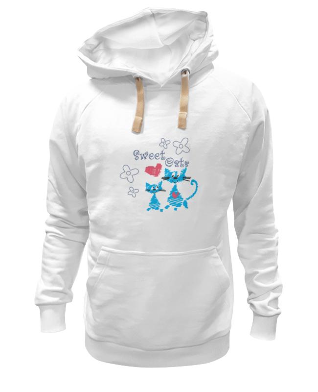 Толстовка Wearcraft Premium унисекс Printio Sweet cats