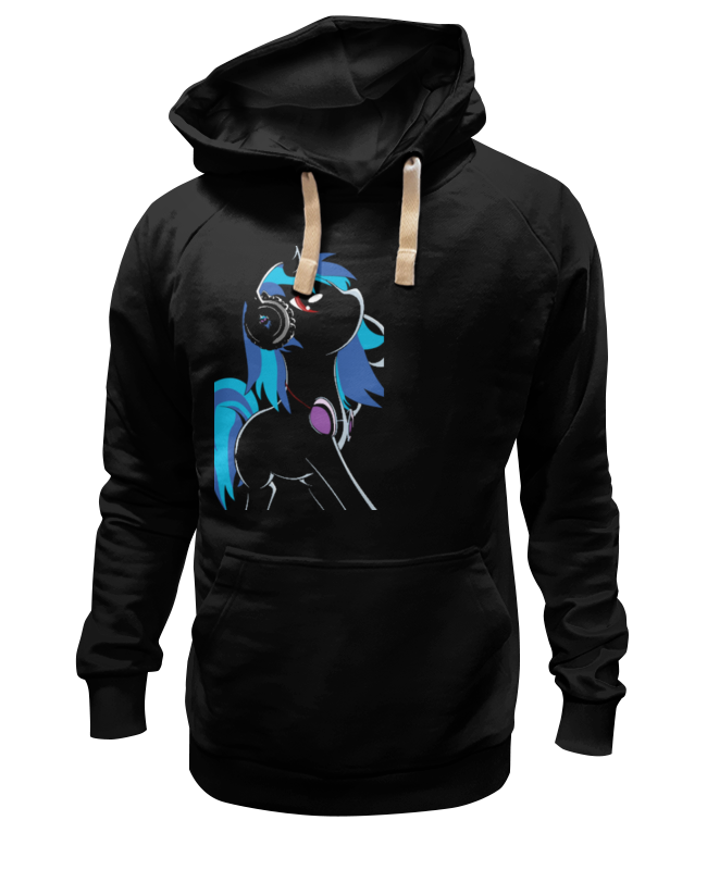 Толстовка Wearcraft Premium унисекс Printio My little pony: dj pon-3 (vinyl scratch) цена и фото