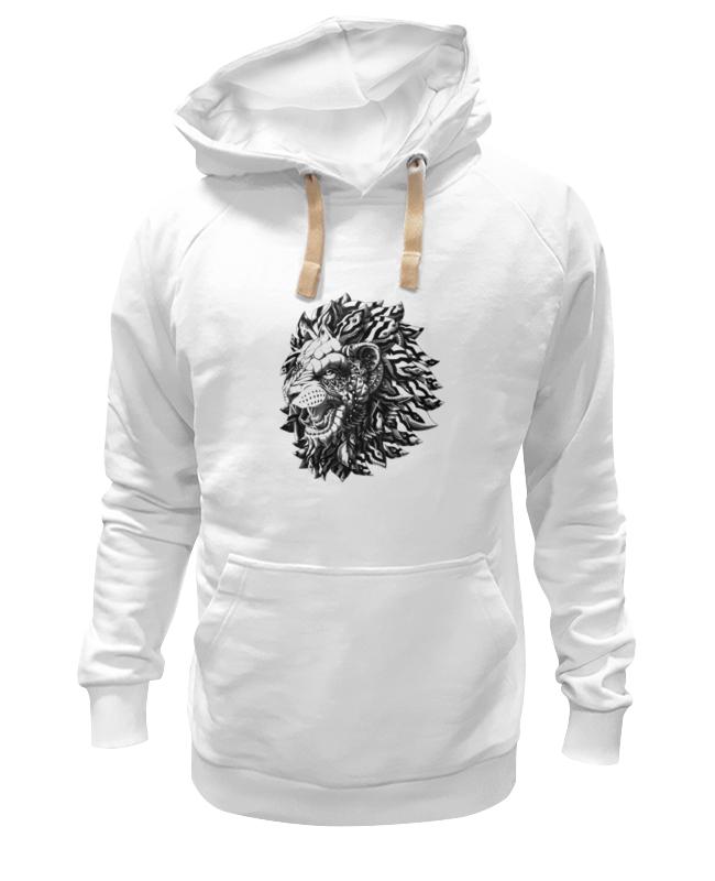 Толстовка Wearcraft Premium унисекс Printio Лев царь толстовка wearcraft premium унисекс printio царь просто царь