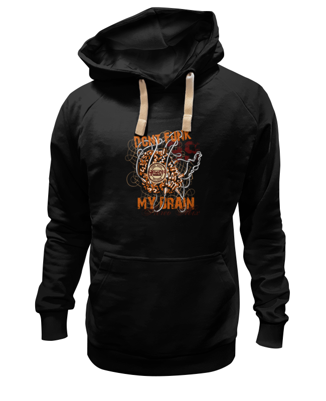 Толстовка Wearcraft Premium унисекс Printio Dont funk my brain цена