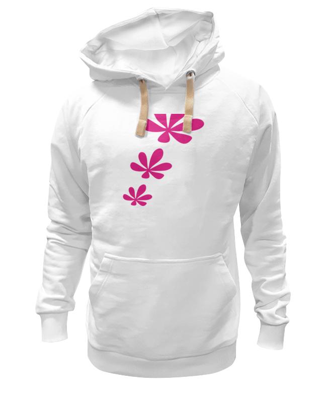Толстовка Wearcraft Premium унисекс Printio Розовые цветы невидимка для волос funny bunny розовые цветы 2 шт