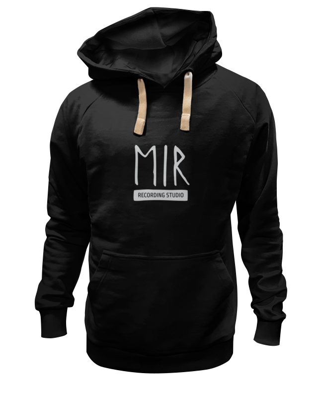 Толстовка Wearcraft Premium унисекс Printio Mir black hoddie шапка запорожец mir drujba black