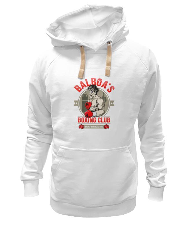 Толстовка Wearcraft Premium унисекс Printio Balboa's boxing club все цены