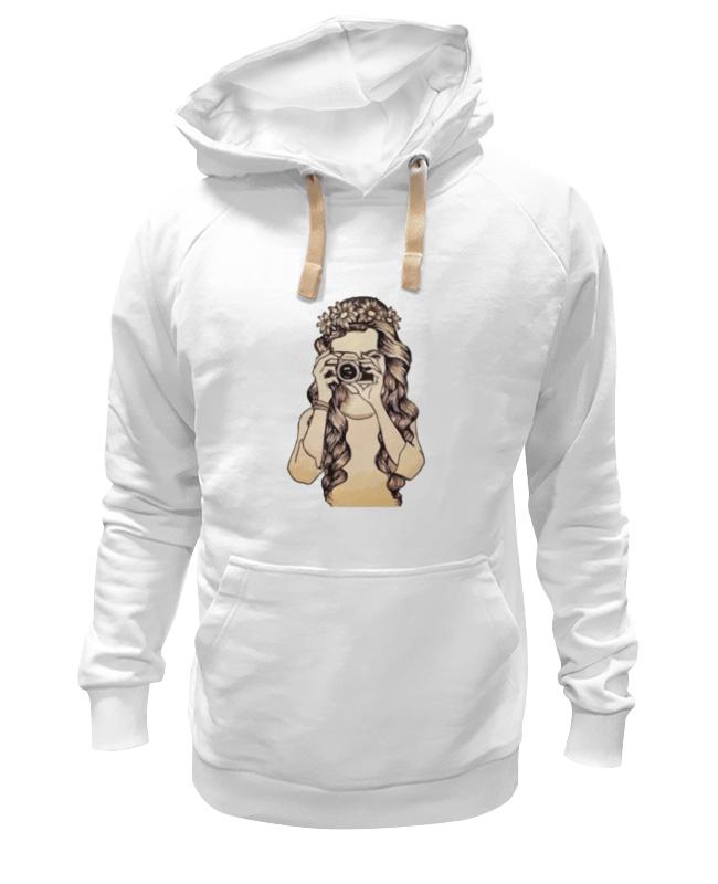 Толстовка Wearcraft Premium унисекс Printio Девушка с камерой футболка классическая printio девушка с камерой