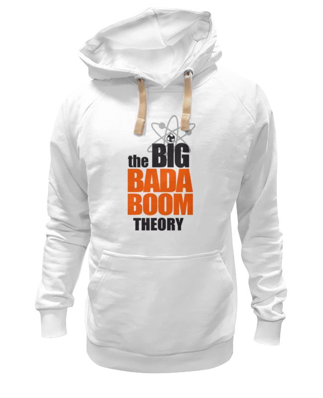 Толстовка Wearcraft Premium унисекс Printio Теория большого бадабума футболка wearcraft premium slim fit printio теория большого бадабума