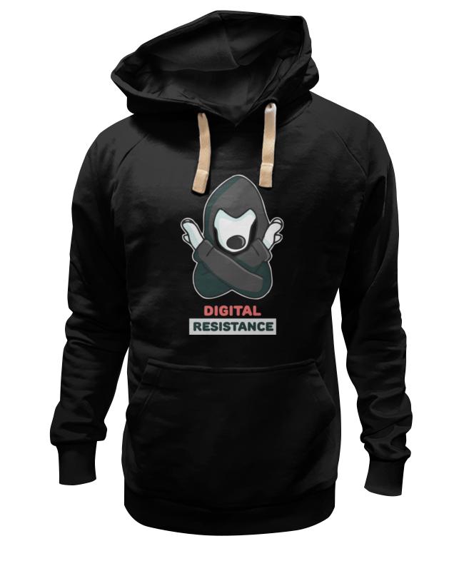 Толстовка Wearcraft Premium унисекс Printio Цифровое сопротивление