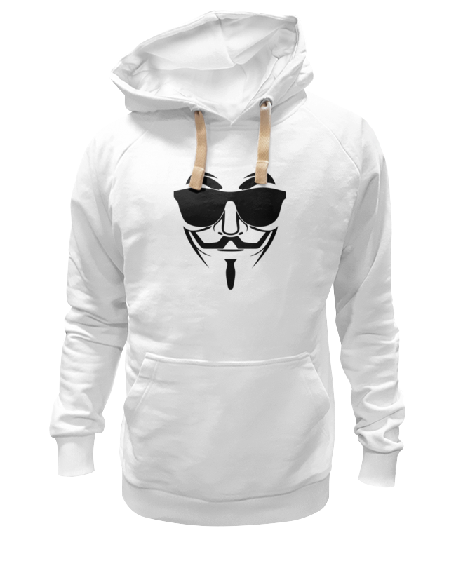 Толстовка Wearcraft Premium унисекс Printio Анонимус (маска гая фокса) цена