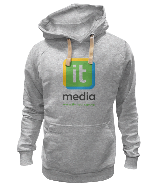 Printio It-media hoodie flocking dot pattern hoodie