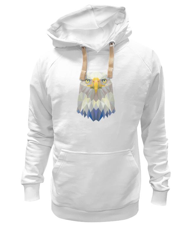 Толстовка Wearcraft Premium унисекс Printio Полигональный орёл