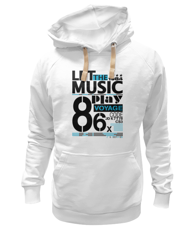 Толстовка Wearcraft Premium унисекс Printio Let the music толстовка wearcraft premium унисекс printio let s do this 20% cooler