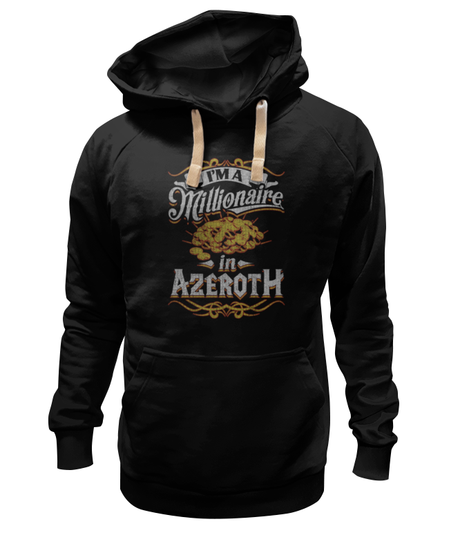Толстовка Wearcraft Premium унисекс Printio Миллионер в азероте. world of warcraft толстовка wearcraft premium унисекс printio world of warcraft орда