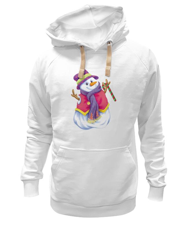 Толстовка Wearcraft Premium унисекс Printio Снеговик толстовка wearcraft premium унисекс printio снеговик с метлой