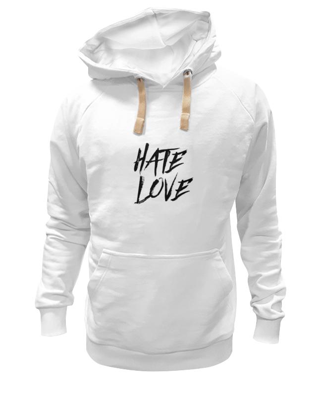 Толстовка Wearcraft Premium унисекс Printio Рэпер face hate love кепка printio рэпер face hate love