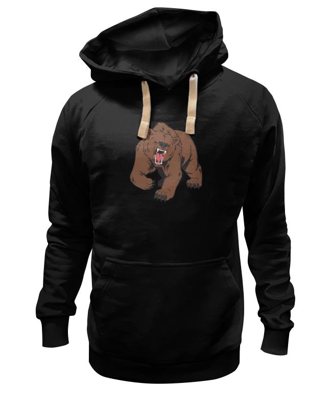 где купить Толстовка Wearcraft Premium унисекс Printio Bear / медведь дешево