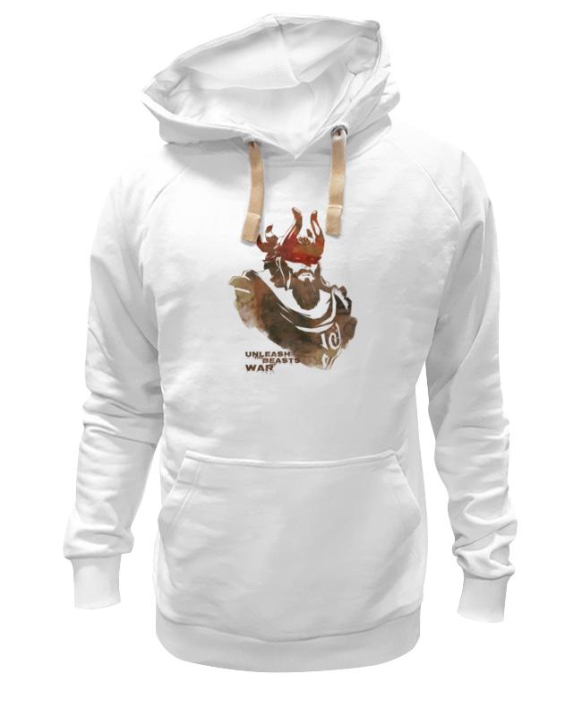 Толстовка Wearcraft Premium унисекс Printio Dota 2 beastmaster (with text) футболка wearcraft premium slim fit printio dota 2 beastmaster with text
