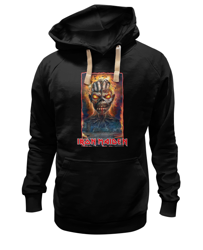 Толстовка Wearcraft Premium унисекс Printio Iron maiden band толстовка wearcraft premium унисекс printio kiss band