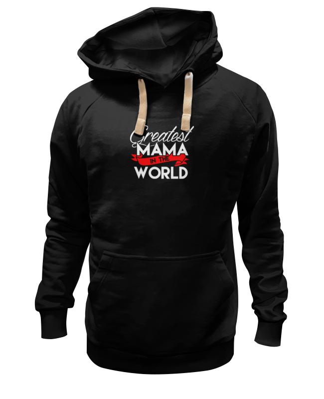 Толстовка Wearcraft Premium унисекс Printio Лучшая мама в мире (greatest mama in the world) the greatest miracle in the world